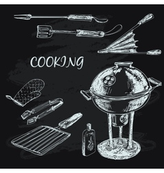 Cooking collection vector