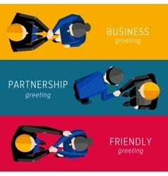 Different handshake set vector
