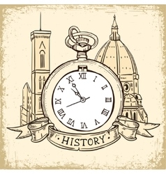 The concept of background about the history vector