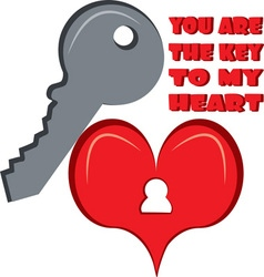 You Are The Key vector image vector image