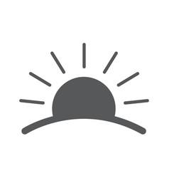 Sunrise logos vector