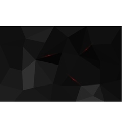 Black triangle structure abstract background vector