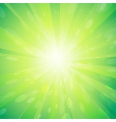 Green light background vector image
