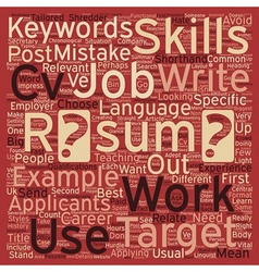 Resume writing common mistakes and how to avoid vector