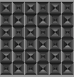 Abstract monochrome background icon vector