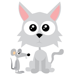 Cute cartoon animal vector