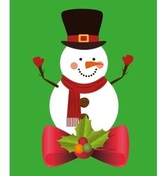 Christmas cartoon graphic vector image