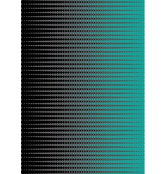Green and black doted halftone vector image vector image