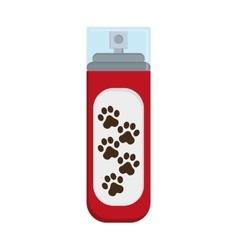Pet shampoo icon vector