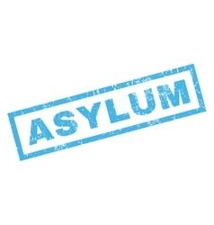 Asylum rubber stamp vector
