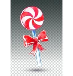 Candy watercolor art vector