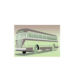 Old bus vector