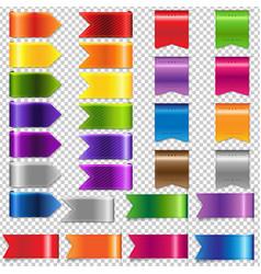 web ribbon big set vector image