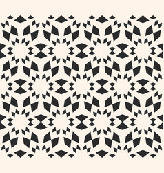 seamless texture floral tile pattern monochrome vector image