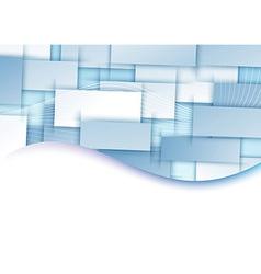 Blue tile transparent background template vector image