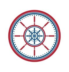 Helm symbol on white vector image