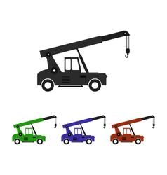 icon cranes vector image