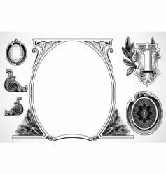 Money elements vector