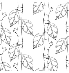Pattern with branches vector