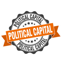 Political capital stamp sign seal vector