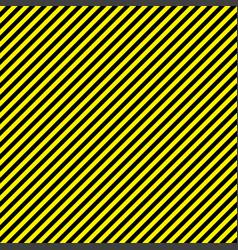 black yellow stripe seamless pattern background vector image