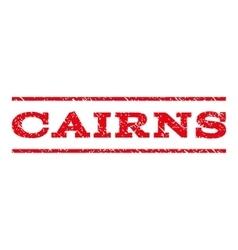 Cairns watermark stamp vector