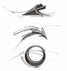Design objects vector