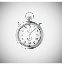 Stopwatch wood application icons vector