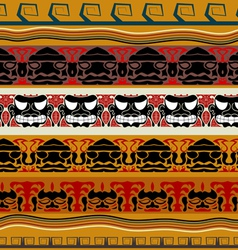 Tribal indian pattern vector