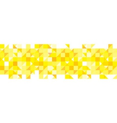 Yellow pattern background vector image
