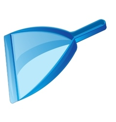 Dustpan for rubbish vector