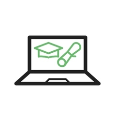 Online degree vector
