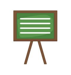 blackboard education isolated vector image vector image