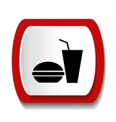 icons Fast Food vector image vector image