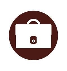 Portfolio flat line icon vector