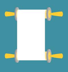 Torah flat design vector