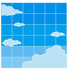 Clear sky background vector