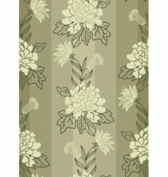 Texture with flowers vector