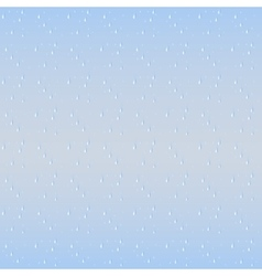 Rain drops seamless background vector