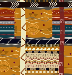 Traditional Indian seamless pattern vector image vector image
