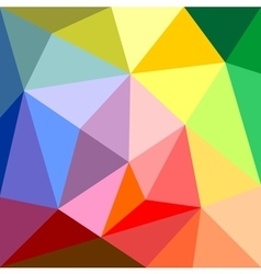 Triangle colorful background vector