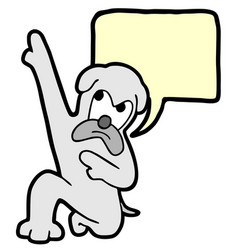win dog vector image