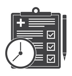appointment request icon vector image