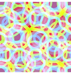 Background Iridescent Rings vector image