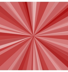 Red rays background for your bright beams design vector