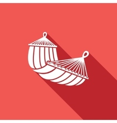 Hammock icon vector