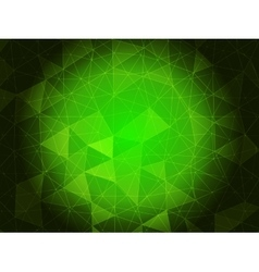 Emerald green background vector