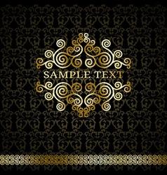 GoldenCurlVS vector image