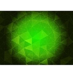Emerald green background vector image