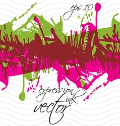Colorful splattered web design repeat pattern art vector